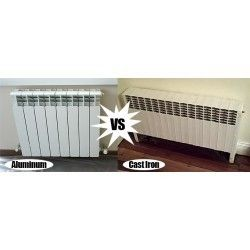 Central Heating Radiators: Aluminum Vs Cast Iron