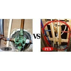 Difference between PEX and PB (Polybutylene) pipes