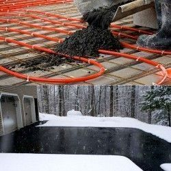 Radiant Floor Heating for Ice and Snow Melting Applications