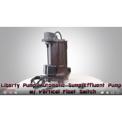 Liberty Pumps Model 287 Automatic Sump/Effluent Pump Review
