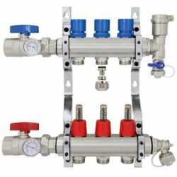 Radiant Heat Manifolds