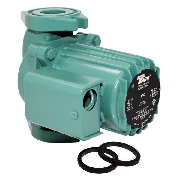 Taco 0010-F3-1IFC Circulator Pump with IFC, 1/8 HP, 115V