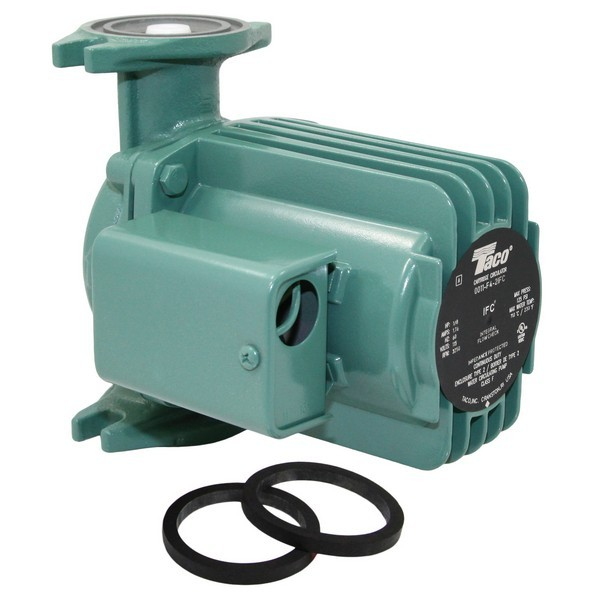 Taco 0011-F4-2IFC Circulator Pump with IFC, 1/8 HP, 115V