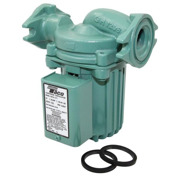 Taco 0014-F1 Circulator Pump, 1/8 HP, 115V