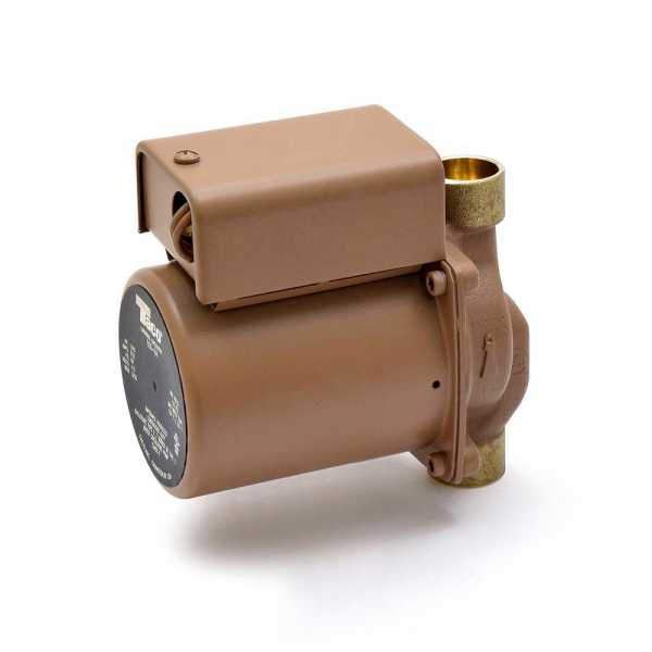 "006 Bronze Circulator Pump, 3/4"" Sweat, 1/40 HP, 115V"