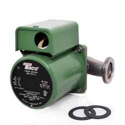 "006 Stainless Steel Circulator Pump, 1-1/4"" Union, 1/40 HP, 115V"