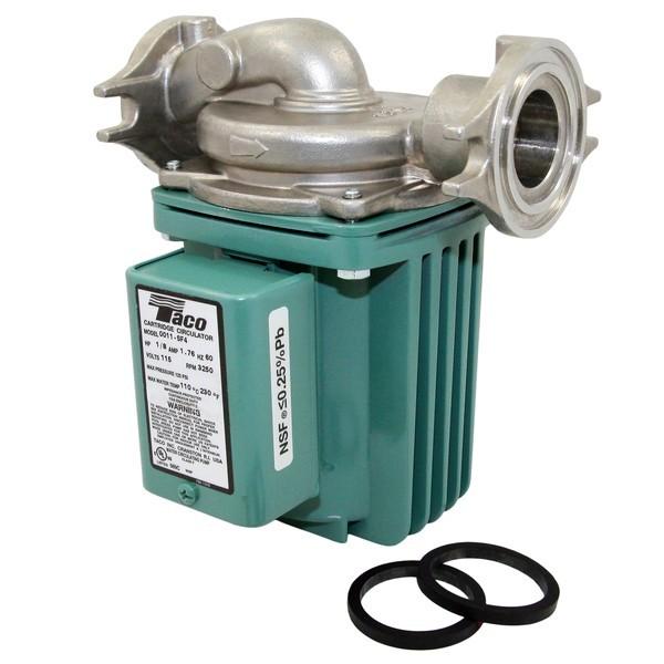 Taco 0011-SF4 Stainless Steel Circulator Pump, 1/8 HP, 115V