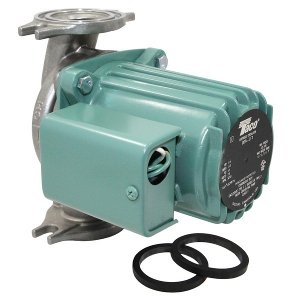 Taco 0014-SF1 Stainless Steel Circulator Pump, 1/8 HP, 115V