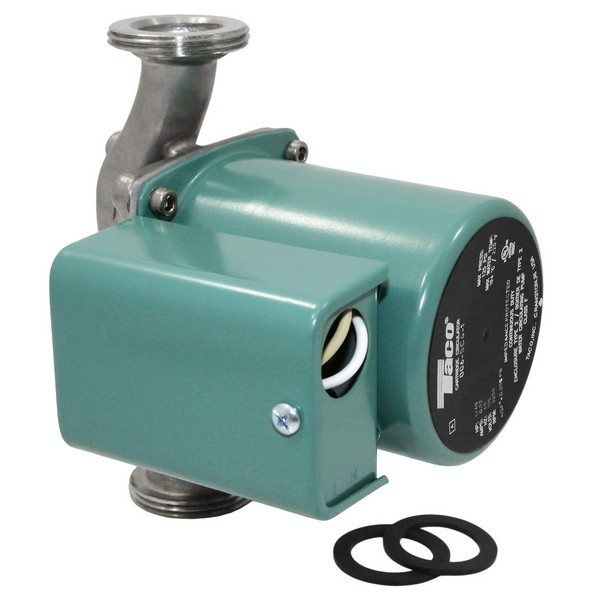 Taco 006-SC4-1 Stainless Steel Circulator Pump,1-1/4' Union, 1/40 HP, 115V