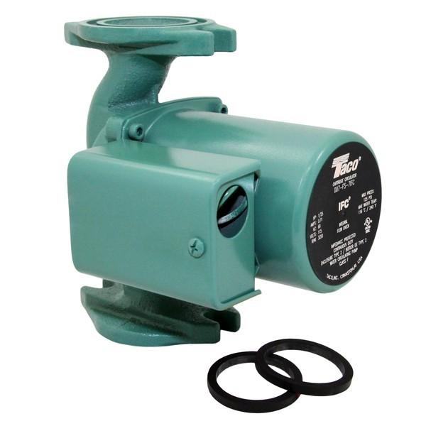 Taco 007-F5-7IFC Circulator Pump with IFC, 1/25 HP, 115V