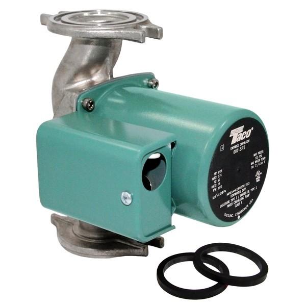Taco 009-SF5 Stainless Steel Circulator Pump, 1/8 HP, 115V
