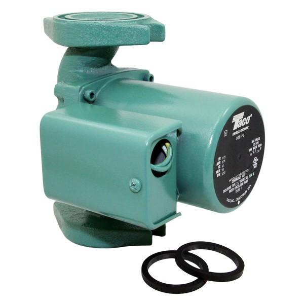 Taco 008-F6 Circulator Pump, 1/25 HP, 115V