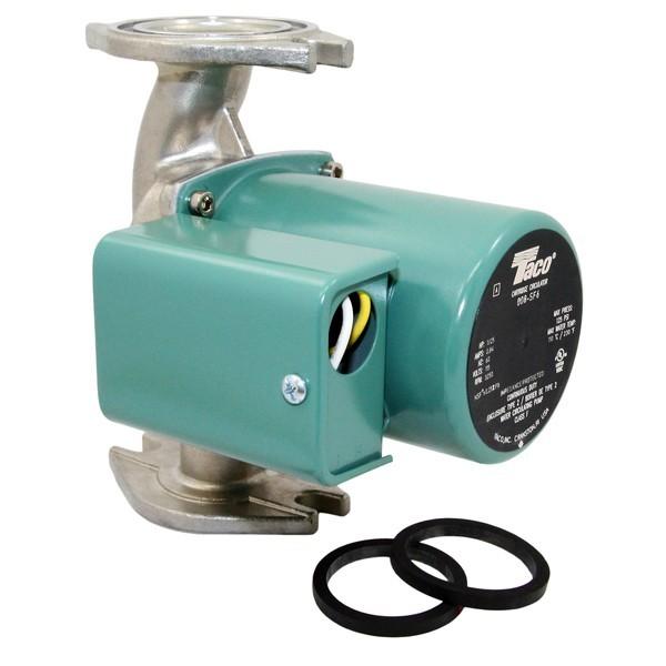 Taco 008-SF6 Stainless Steel Circulator Pump, 1/25 HP, 115V