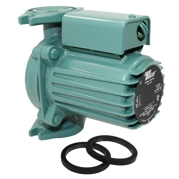 Taco 009-F5 Circulator Pump, 1/8 HP, 115V