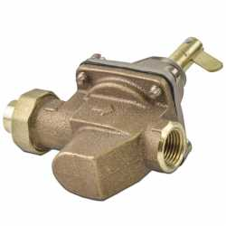 "SB1156F, 1/2"" High Capacity Boiler Fill Valve, FNPT x Sweat Union"