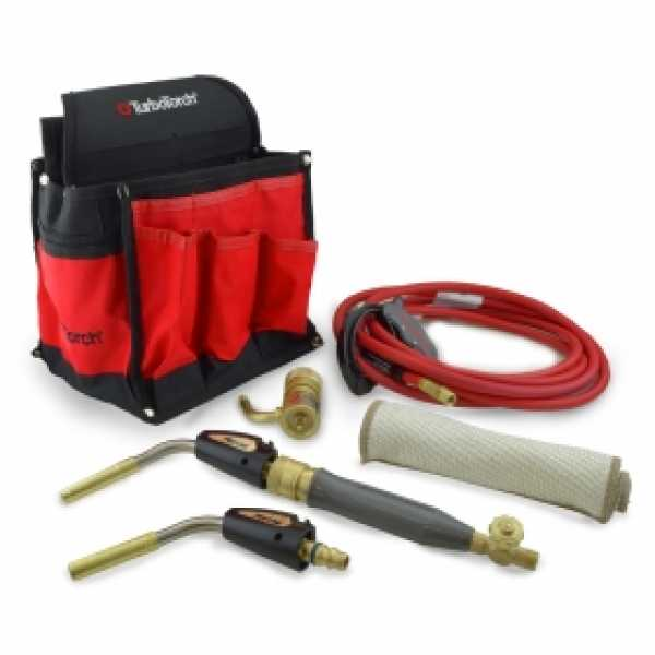 PL-DLXPT Deluxe Portable Torch Kit, MAP-Pro/Propane, Self Lighting