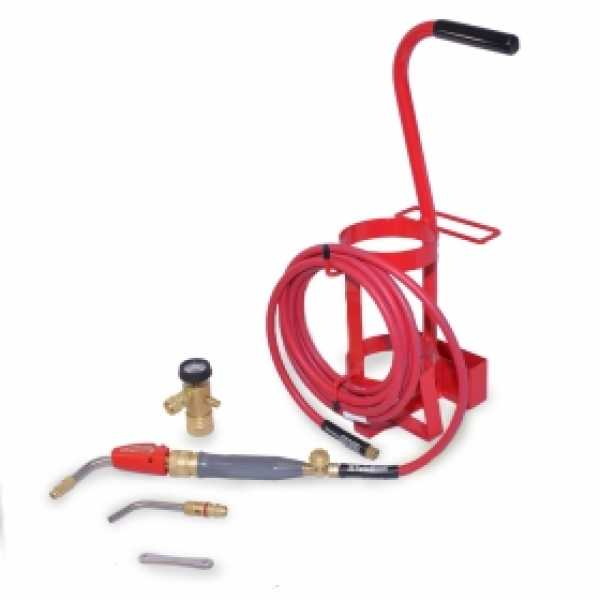 TDLX 2003MC Torch Swirl Tote Outfit Kit, Air Acetylene, Self Lighting
