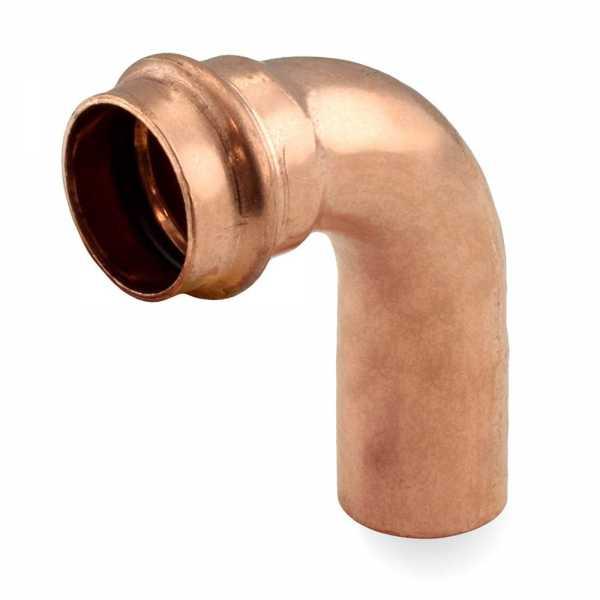 "1"" Press Copper 90° Street Elbow"