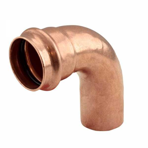 "1-1/2"" Press Copper 90° Street Elbow"