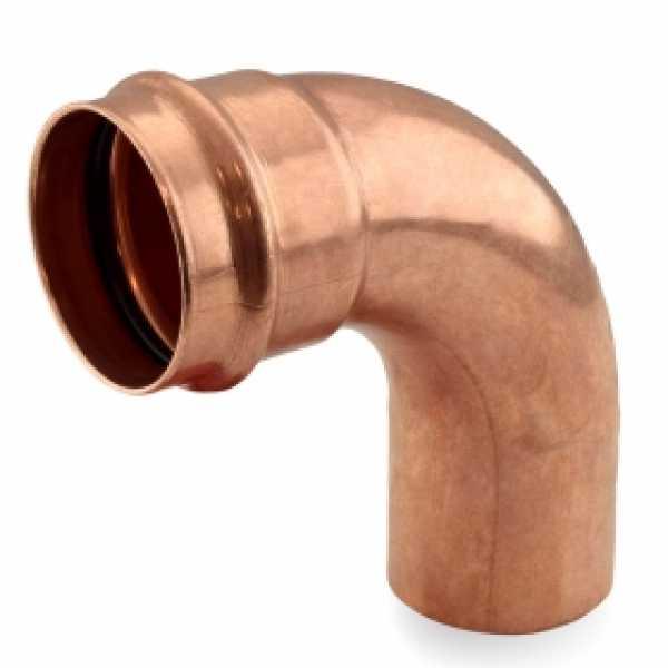 "2"" Press Copper 90° Street Elbow"