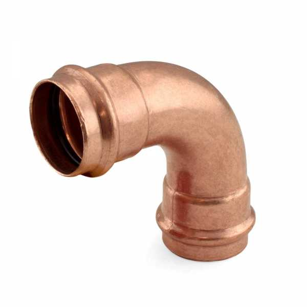 "1-1/4"" Press Copper 90° Elbow"