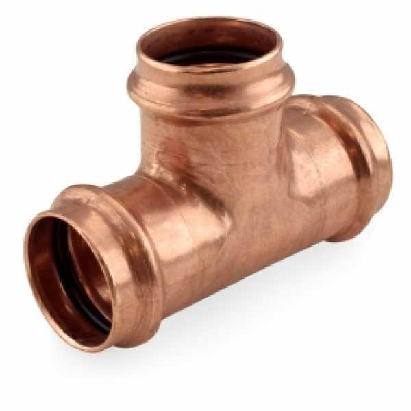 """1-1/2"""" Press Copper Tee"""