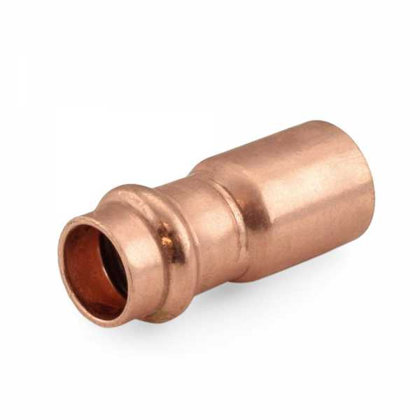 "1"" FTG x 3/4"" Press Copper Reducer"