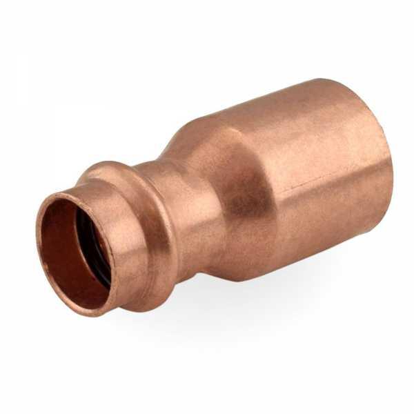 "1-1/4"" FTG x 3/4"" Press Copper Reducer"