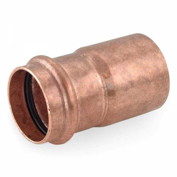 "1-1/2"" FTG x 1-1/4"" Press Copper Reducer"