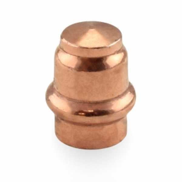 """1/2"""" Press Copper Cap"""