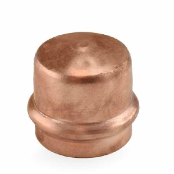 """1-1/4"""" Press Copper Cap"""