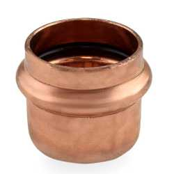 "1-1/2"" Press Copper Cap"