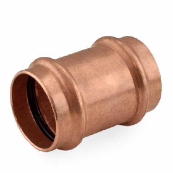 "1-1/4"" Press Copper Slip Coupling"