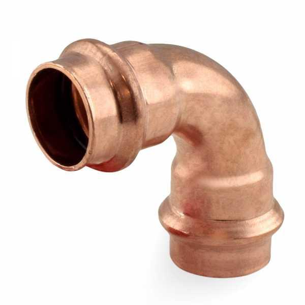 "3/4"" Press Copper 90° Elbow"