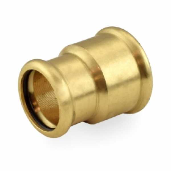 "1-1/4"" x 1"" Press Copper Reducing Coupling"