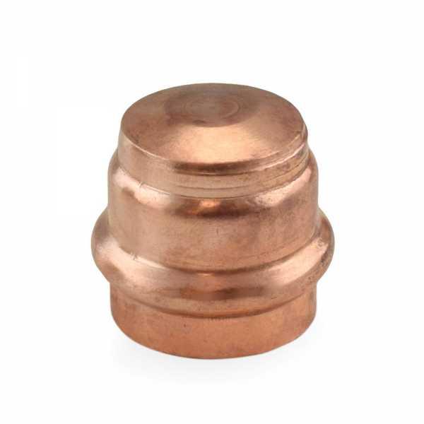"""1"""" Press Copper Cap"""