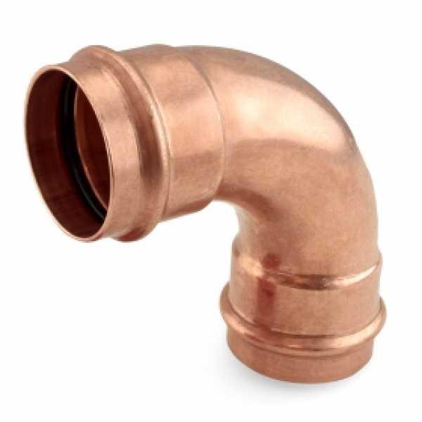 "2"" Press Copper 90° Elbow"