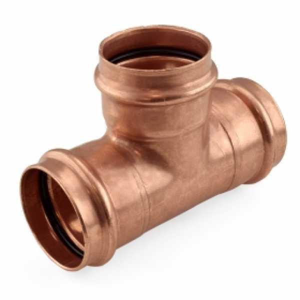 """2"""" Press Copper Tee"""