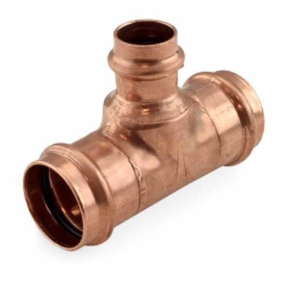 """1-1/4"""" x 1-1/4"""" x 3/4"""" Press Copper Tee"""