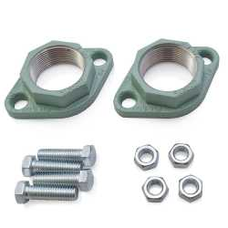 "1-1/2""  NPT Cast Iron Freedom Flanges (Pair)"