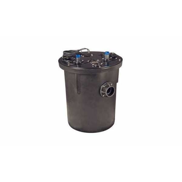 1 HP 1100 Series Duplex Sewage System - 208-230v - 3' Discharge