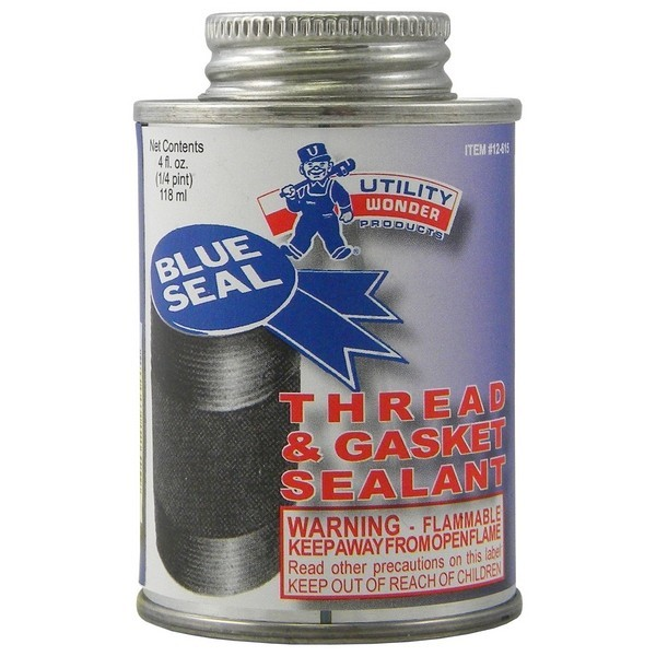 Utility Wonder 01.12.615 Blue-Seal Pipe Joint Sealant, 1/4 pt, PTFE