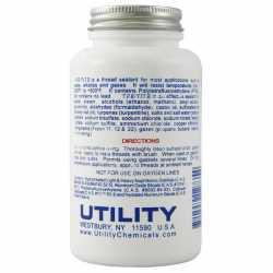TFE-Tite PTFE Pipe Joint Compound (Teflon Paste) w/ Brush Cap, 8 oz (1/2 pint)
