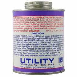 Purple PVC Primer, 16 oz (1 pint)