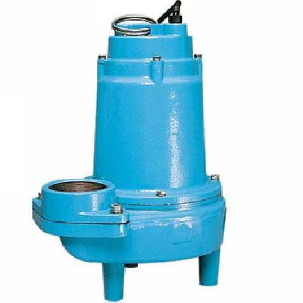 "Manual Sewage Pump, 1/2HP, 3"" FNPT Discharge, 20' cord, 208/240V"
