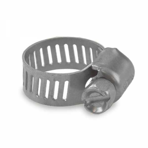 "1/4"" - 5/8"", SAE 4, St. Steel Worm Gear Clamp"