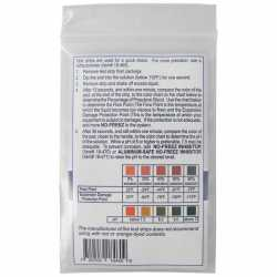 Anti-Freeze Test Kit, 10 strips