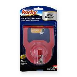 Korky Hinge Flapper for Kohler Toilets