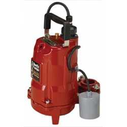 Automatic Effluent Pump, 6/10HP, 10' cord, 208/240V