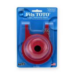 "Korky 3"" Flapper for TOTO G-Max Toilets"